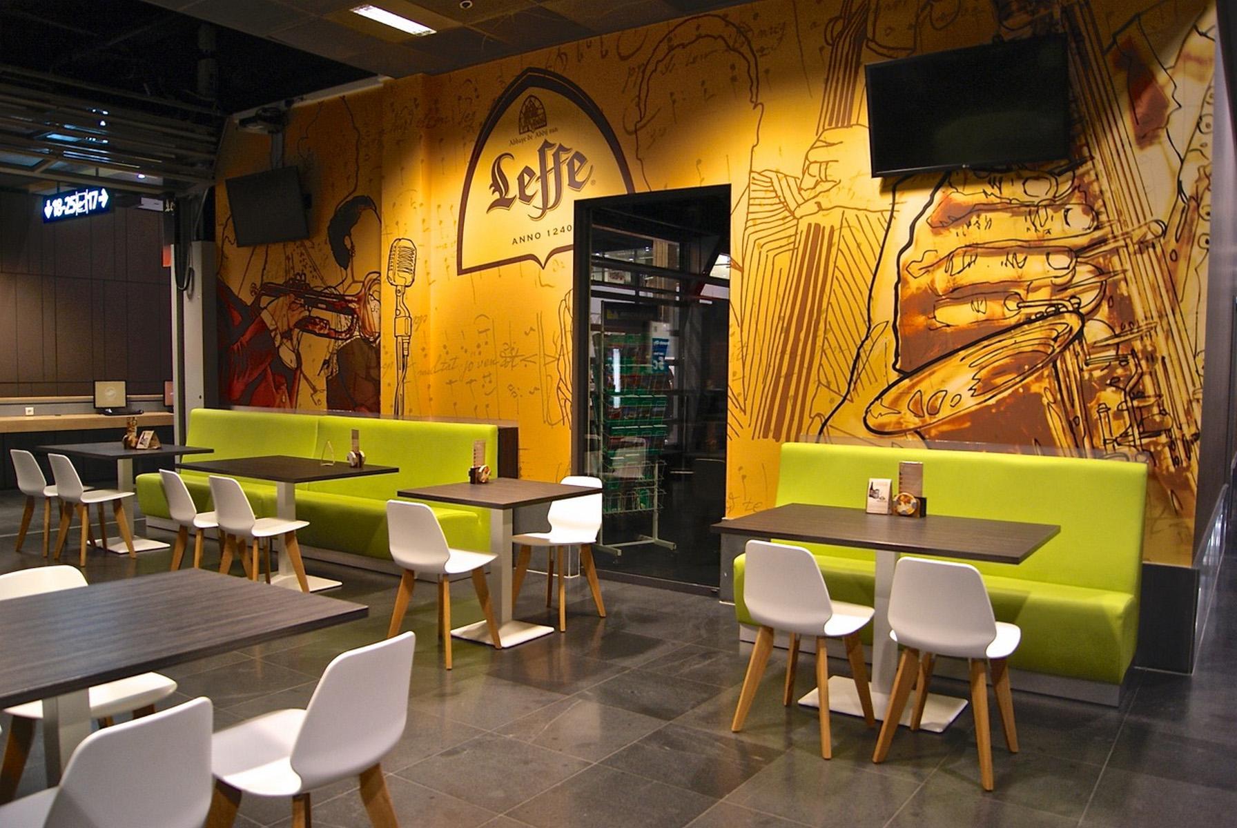 Design concept, créateur de banquette pour salle de restaurant ou ...
